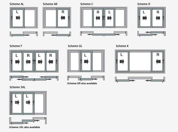 Sliding Door  Sliding Door Dimensions