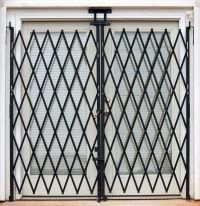 Pair Folding Security Gates secure dock and receiving ...