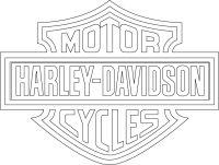 LLANTEN: logotipo de harley davidson vectorizado. | Dibujo ...