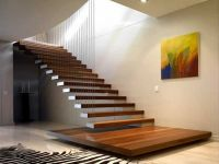 Hanging Stairs Design Modern Homes | Stairs in Homes ...