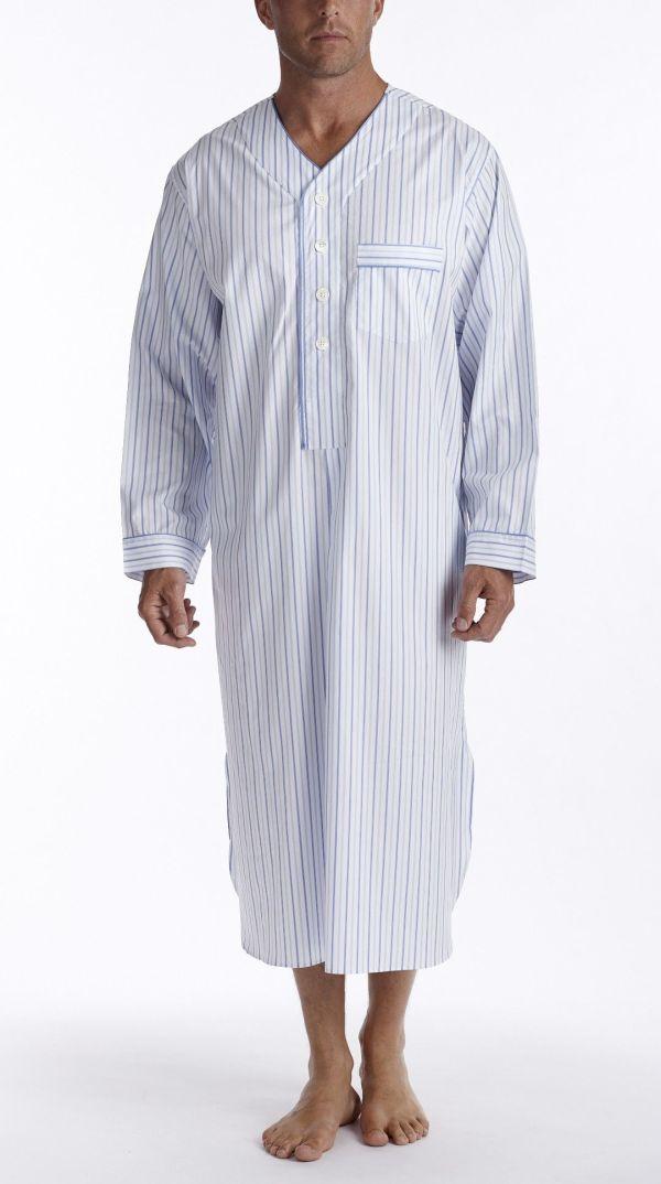 Men' Sleepwear Nightshirts Mid-ocean Nightshirt