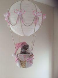 Hot Air Balloon Lamp light shade Tatty Bear Pink | Lamp ...