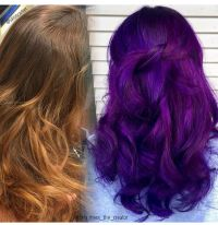 Pravana violet and wild orchid | Creative haircolors ...
