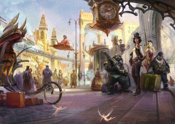Steampunk Tendencies Illustration Vladimir Bondar #