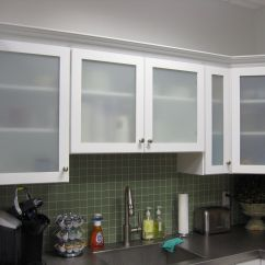 Kitchen Cabinet Doors With Glass Outdoor Plans Pdf White Cabinets Frosted Shayla 39s