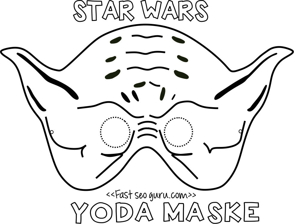 printable star wars yoda mask template for kids.jpg (983