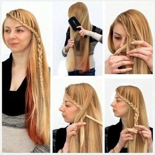 Easy Braided Hairstyles Tutorial Side Braid Ideas For Women