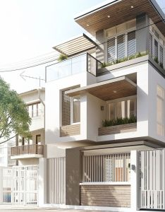 Modern house  like the size and material under eaves rendering architecturearchitecture designcontemporary architectureinterior also best images about architecture on pinterest rh in