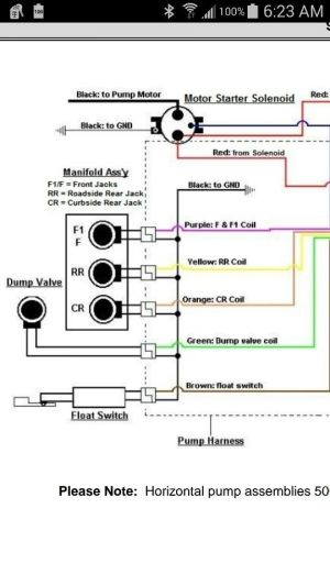 2000 Fleetwood bounder leveling jack wiring diagram | Rv