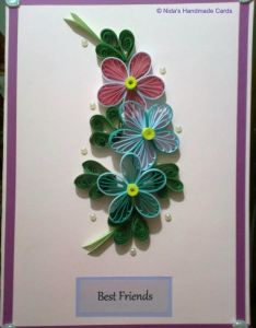 Find this pin and more on quilling creations also beautiful cards fb nidahandmadecards nida   handmade pinterest rh uk
