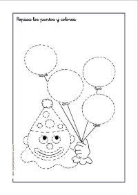 grafomotricidad: Repasa y colorea   English   Pinterest ...