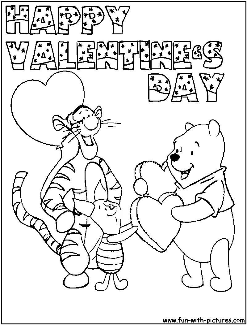 Colorings Co Happy Valentines Day Coloring Pages For Boys