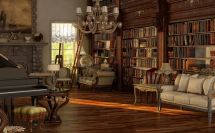 Old Victorian Living Rooms