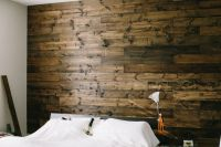 DIY - Wooden Bedroom Accent Wall. I love this, and plan to ...