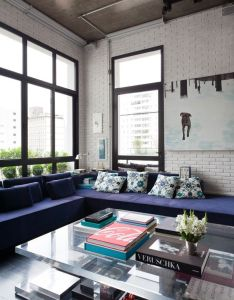 House also acrylic coffee table  interior design pinterest lofts rh