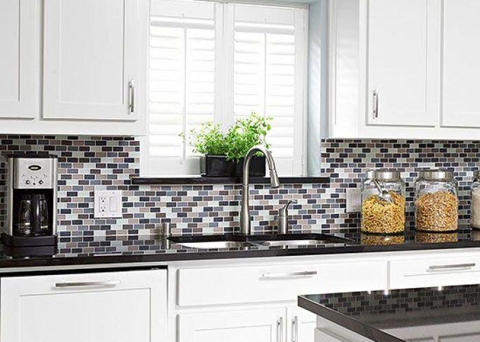 also glass tile backsplash inspiration modern kitchens and house