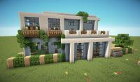 First Modern House Minecraft Project   minecraft ...