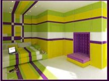 Bedroom Paint Colors - Yellow And Purple Bedroom ...
