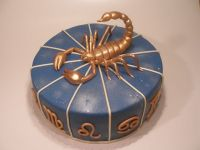Scorpion Birthday Cake | | What's your sign? ( . ...