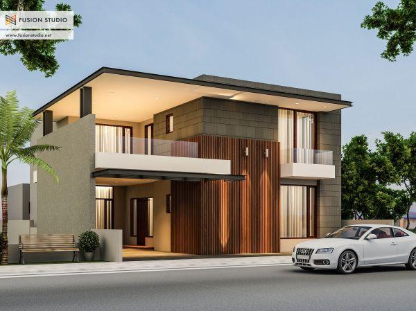 Modern Exterior House Elevation