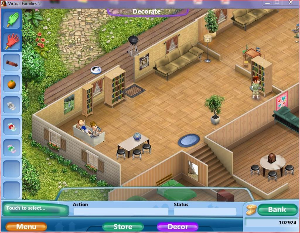 Virtual Families 2 House Upgrades Google Search VF2