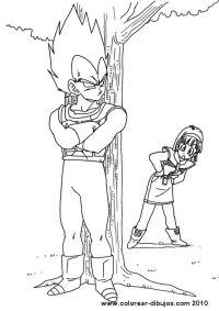 Dibujos Para Colorear Bola De Drac Z. Dragon Ball Z ...