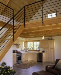 tiny house with loft | ... -white-painted-interior-small ...