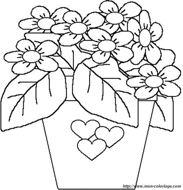 Malvorlagen Blumen 205 Malvorlage Blumen Ausmalbilder