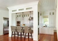 Island that could double as support for load bearing wall ...