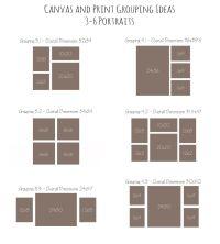 Canvas and Print Grouping Ideas | Home Decor Ideas ...