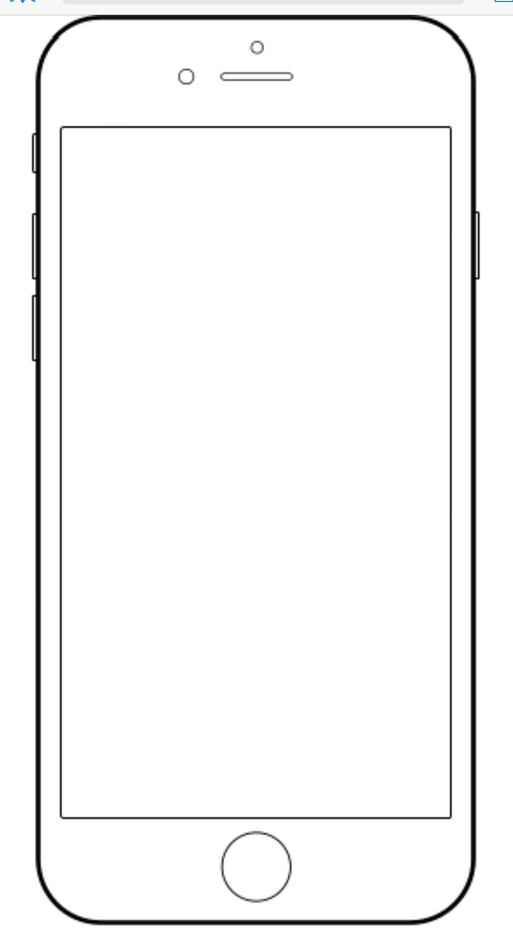 Iphone Template