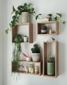 design ideas and home decor inspiration from interior book bohemian modern by emily henson also playful storage becomes wall art can house an abundance of rh pinterest