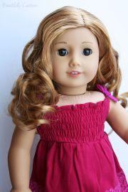 custom american girl doll brown