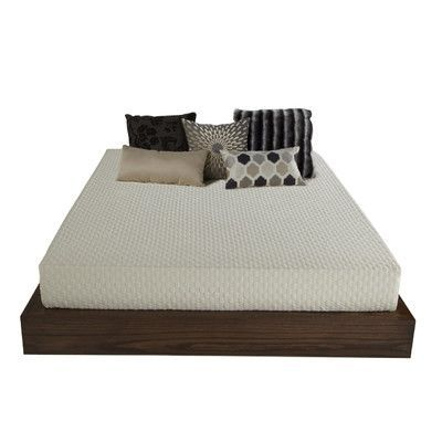 Plush Beds Mobileplush 8 Memory Foam Mattress Size Three Quarter