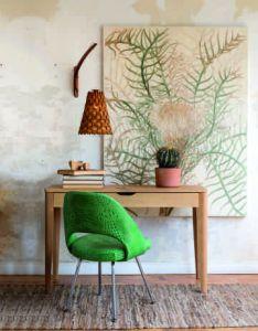 House also inspiracao do dia cadeira de couro tela workplace decoration rh pinterest