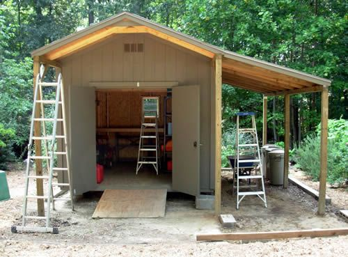 Wood Lean To Shed Plans Shed Ideas Pinterest Woods
