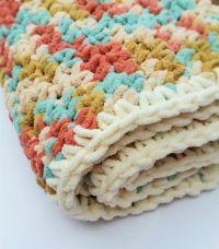 Easy Crochet Baby Blanket Pattern | Crochet baby, Stitches ...