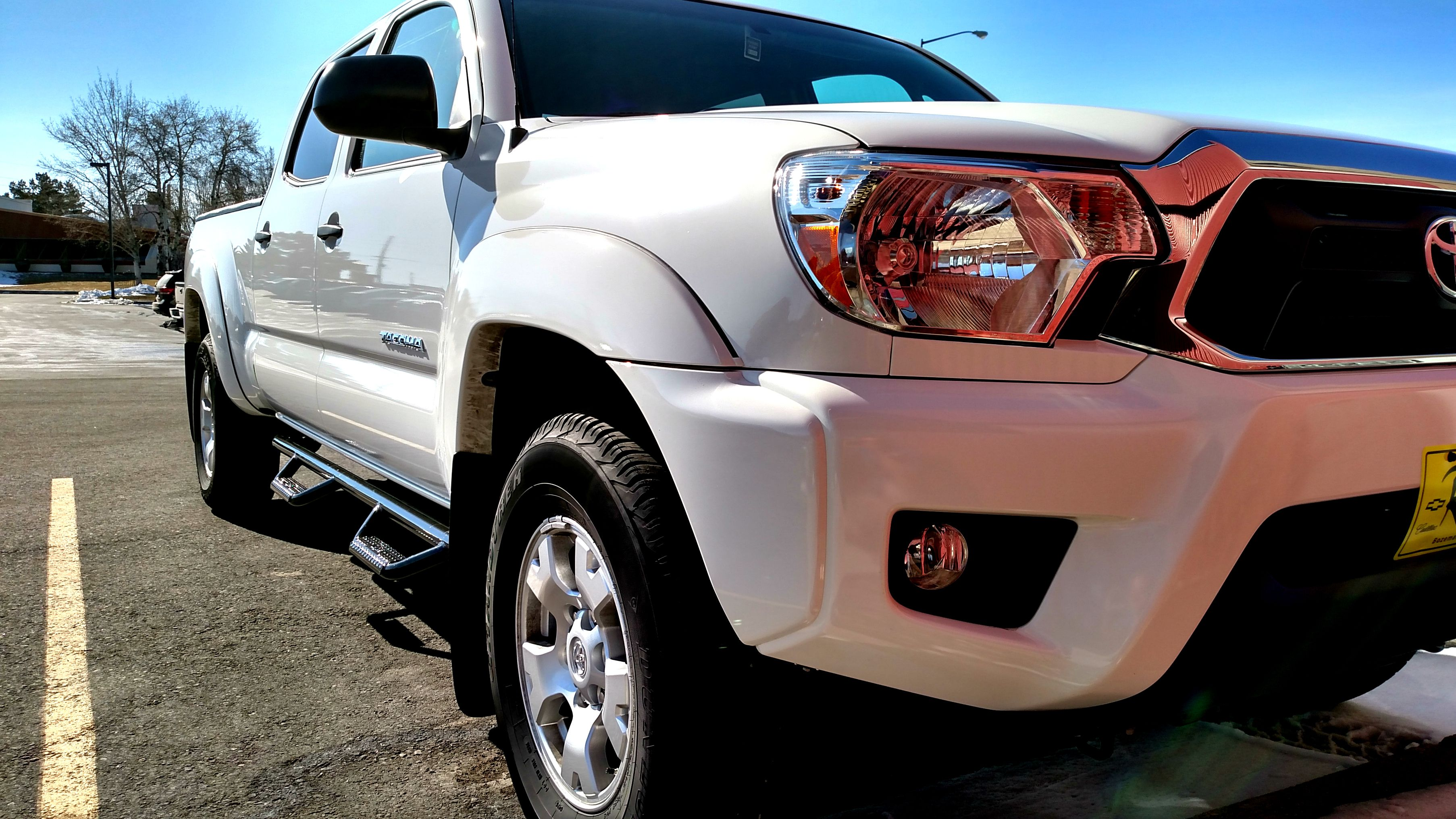 Toyota Step Side 2014 Tacoma Bars