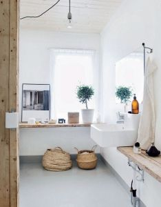 Scandinavian white dream home in norway interior design files long skinny shelf under sink bathroom pinterest filing and interiors also rh