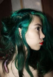 emerald hair die