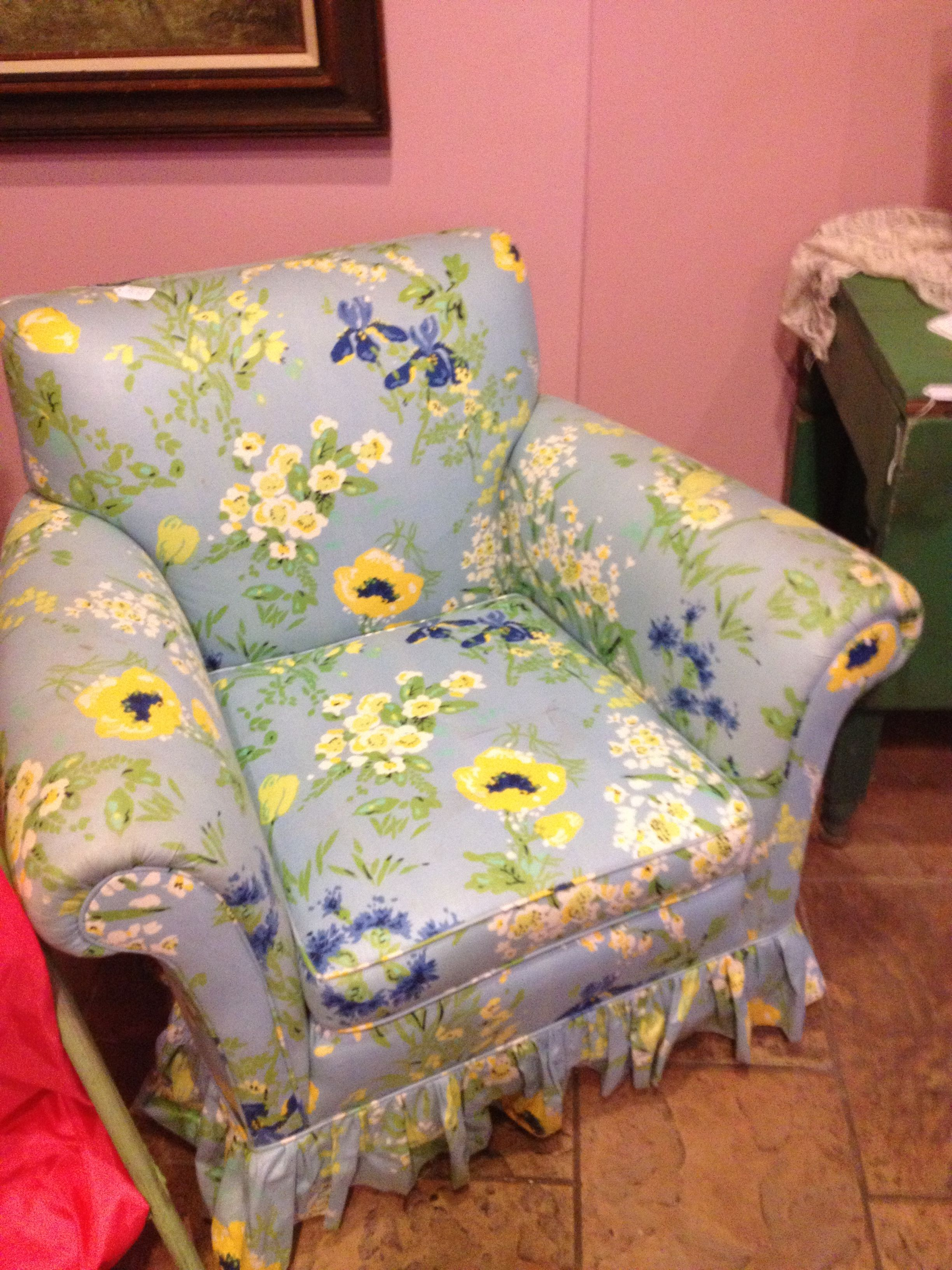 lilly pulitzer chair captain chairs for center console boats vintage looking bedroom club mint
