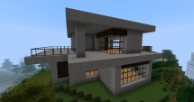 Cool Modern Minecraft House Ideas