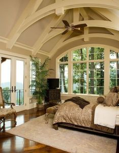 Don gardner house plan the oak abbey master bedroom  would love to have that ceiling also rh pinterest