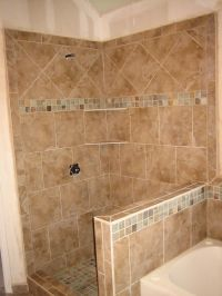 Bathroom Tile Patterns With A Simple Pattern Patterned