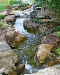 Backyard water feature | Frisella Nursery Landscapes ...