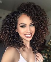 human hair wigs medium length curly