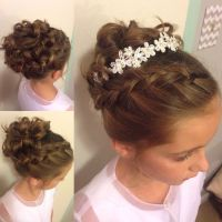 wedding hairstyles for little girls best photos | Weddings ...