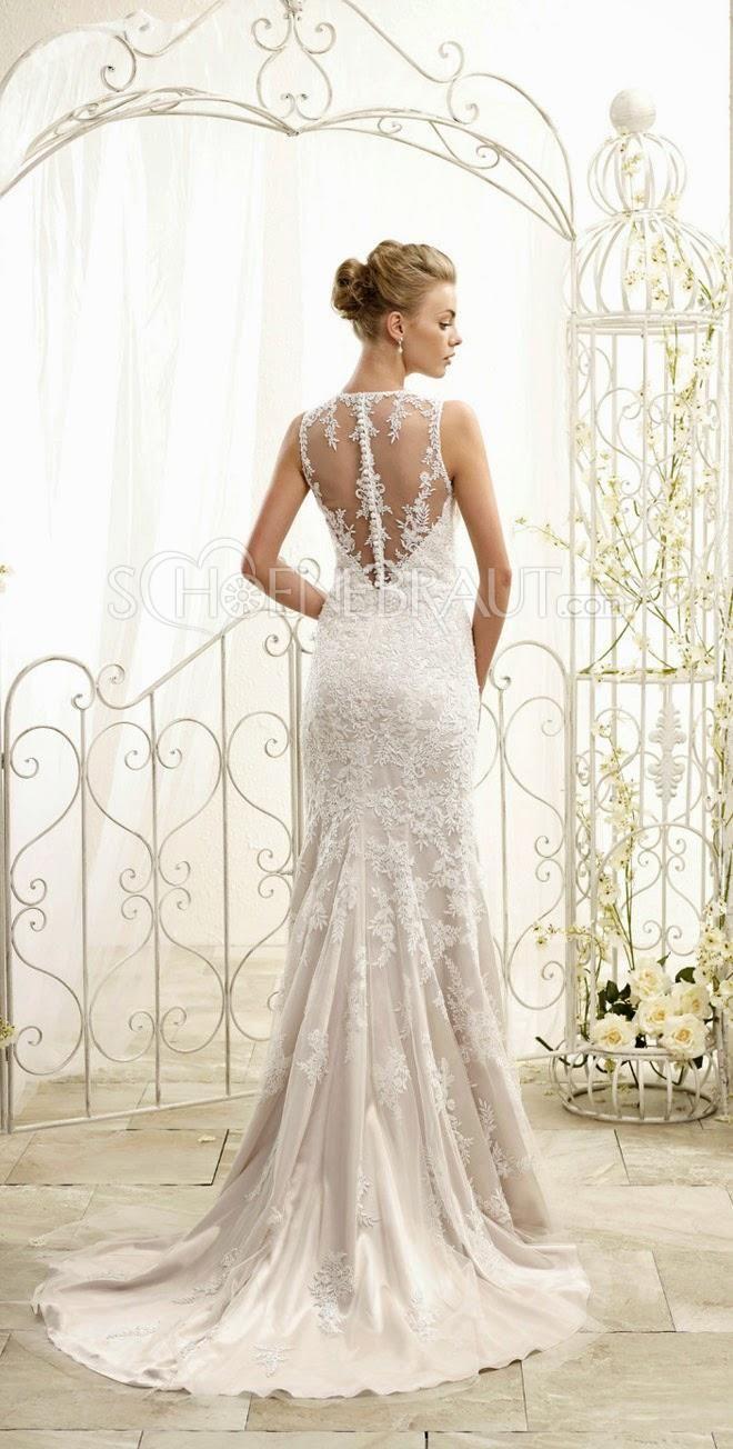 Elegant Brautkleider lang mit Spitze Meerjungfrau Hochzeitskleider UD9152  schoenebrautcom
