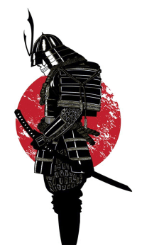 Images For > Samurai Mask Silhouette | tattoo ideas ...