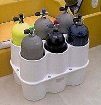 Scuba Tank Rack - http://scuba.megainfohouse.com/scuba ...